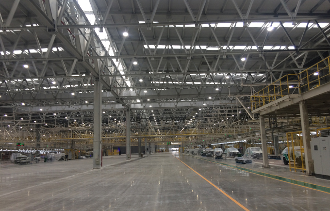 Changhe Auto Assembly Workshop , China LED high bay light