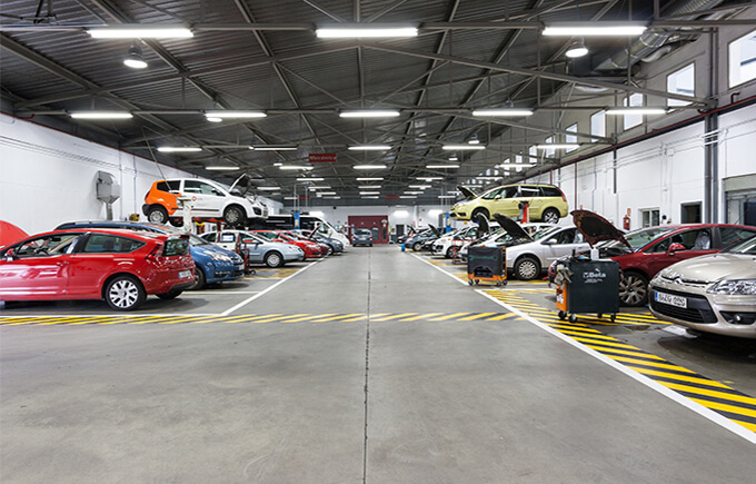 Auto repair workshop,Spain LED High Bay  Light