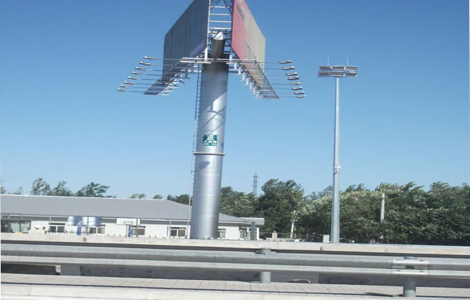 Highway, Shenzhen, China  LED High Mast Light