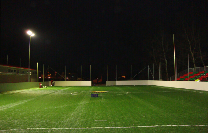 Football Field, Hungary  LED high mast Light