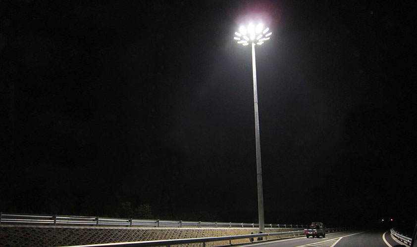LED high mast lighting application