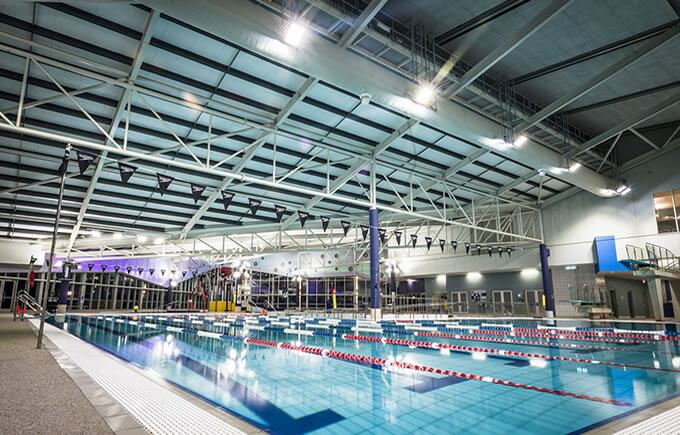 Natatorium, Melbourne, Australia  LED Flood Light