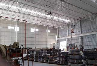 LED  High Bay Lights in Mexico Workshop Manufactured by Yaham Lighting
