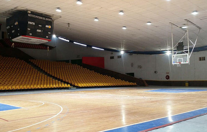 Basketball Court, Mexico LED Flood Light