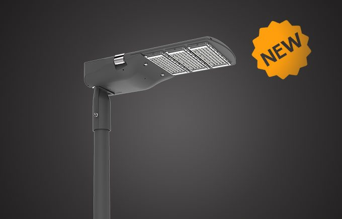 Edge LED street light