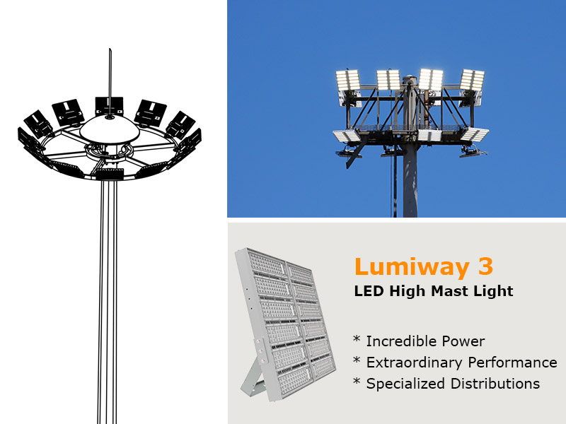 Images for led high mast light