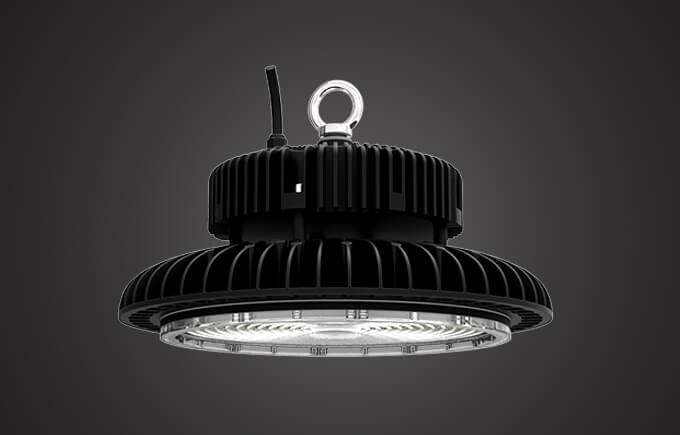 Compact Mg LED high bay light