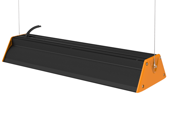 Linear II LED high bay light heat sink