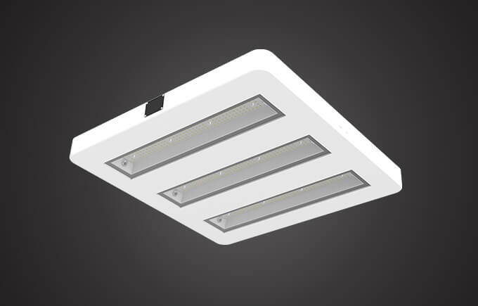 Aqua LED canopy light