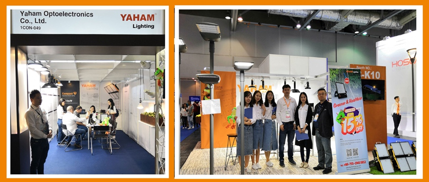 YAHAM Lighting-the Hongkong international Lighting Fair and outdoor & Tech Light Expo have been concluded