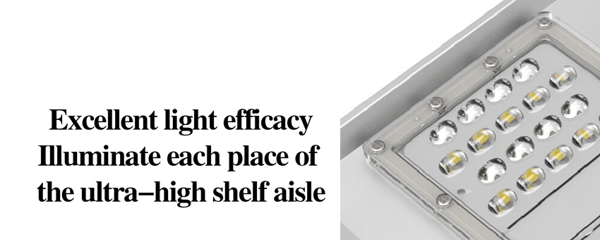 Excellent light efficacy