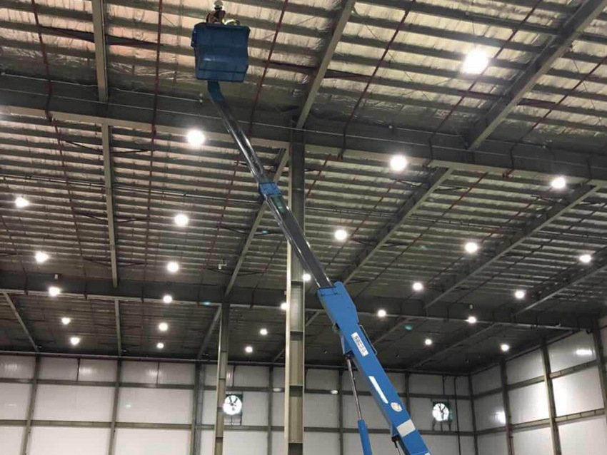 Nestlé Warehouse Lighitng Project Philippines LED High Bay Light with Intelligent Control System