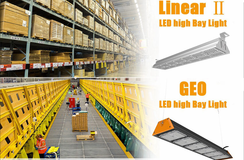 Linear High Bay Lights, For Large-Scale Warehouses,  Hub Centers and Ultra-High Ceiling Factories