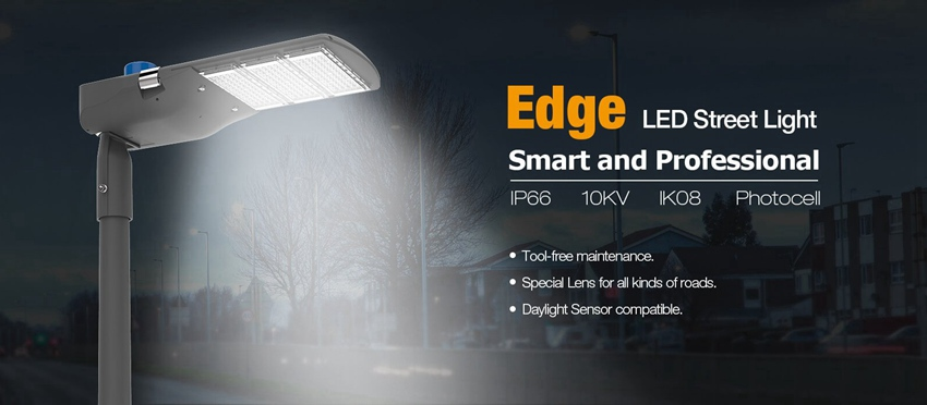 Edge LED street light led street light manufactory