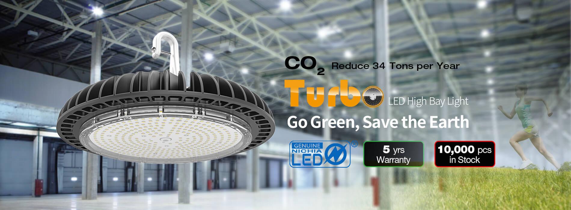 Turbo LED high bay light