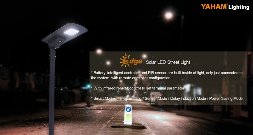 Yaham Edge LED solar street light