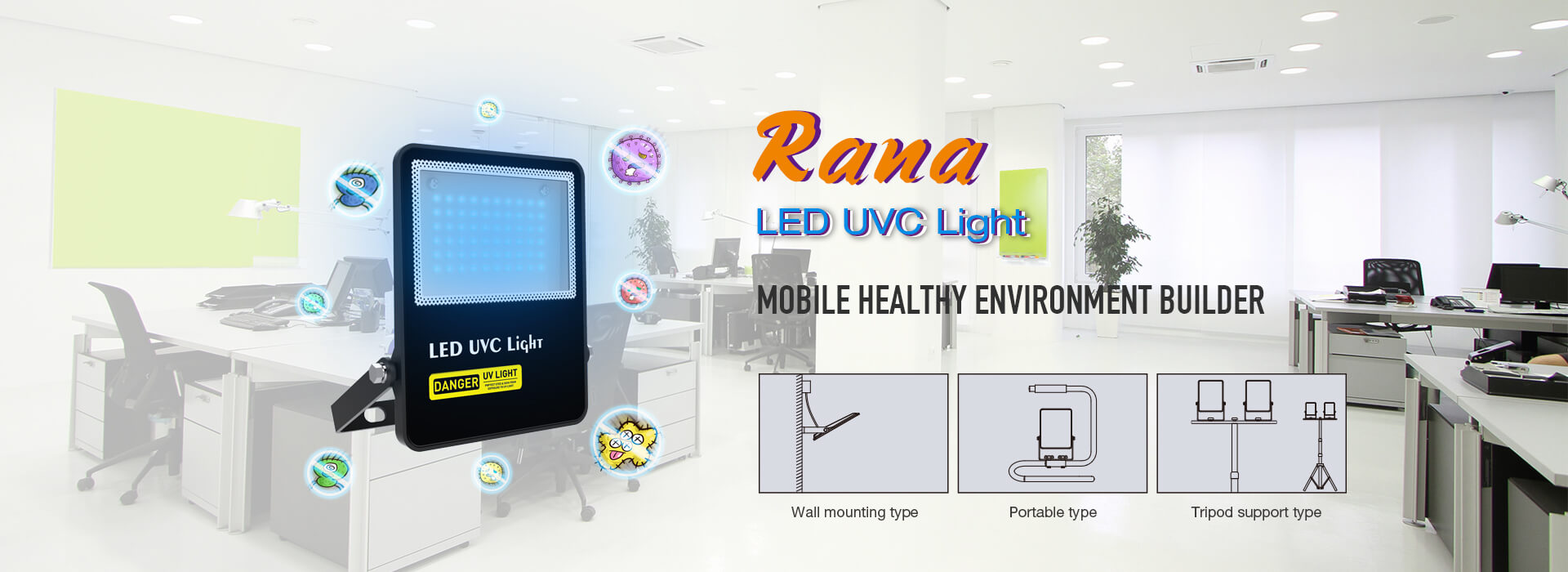 Rana LED UVC Light